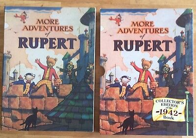 RUPERT FACSIMILE ANNUAL 1942 VERY FINE LTD EDITION in V FINE Slipcase JAN SALE!