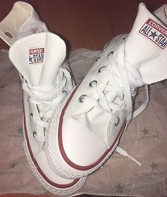 converse all star donna bianche alte