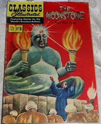 Classics Illustrated No.102 The Moonstone see both images