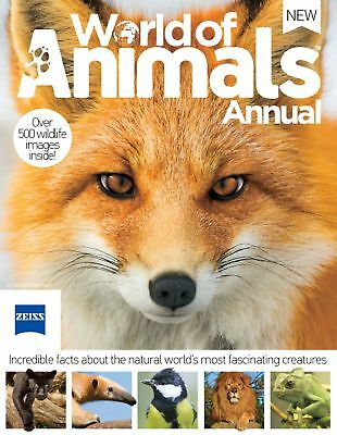 World of Animals Annual - NEW - BOOK - FACTS - EDUCATIONAL