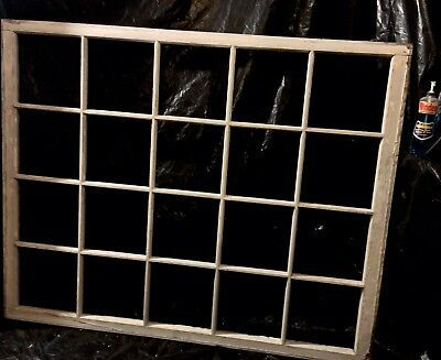 20 Pane Barn Window Sash Architectural Kitchen Design Home Cottage Furnishings
