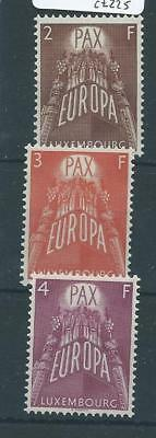 Luxembourg 1957 Europa mm