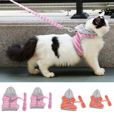 Cat Harness - Adjustable Soft Chest Strap for Rabbits Puppy Kittens