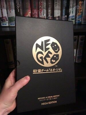*New/Sealed* Neo Geo: A Visual Mega Edition  History artbook by Bitmap Books