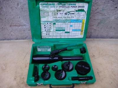 Greenlee 7804Sb Quick Draw Hydraulic Punch Driver 1/2 To 2 Inch Works Fine