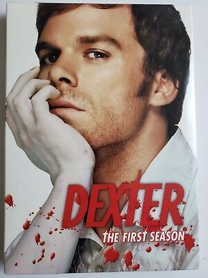 Dexter The Complete First Season DVD 2007 4-Disc Set Michael C Hall LIKE NEW