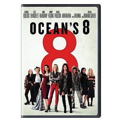Ocean's 8 DVD, new and sealed.