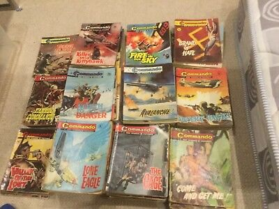 Commando War stories Large collection of early issues 137 in total