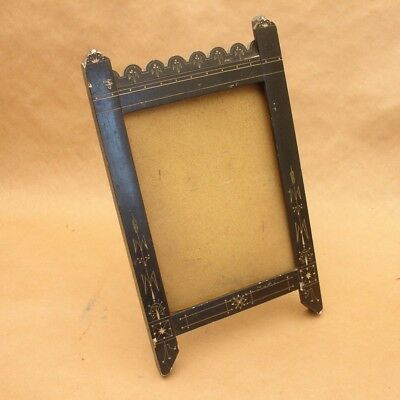 4 Antique Victorian Eastlake Black Double Action Spring Swing Saloon