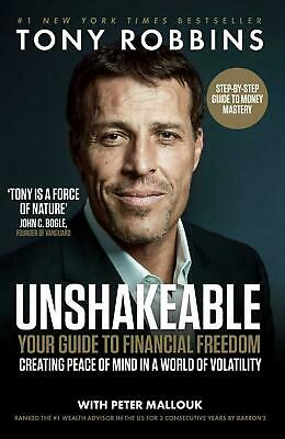 Unshakeable: Your Guide to Financial Freedom by Tony Robbins Paperback Book Free