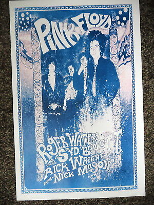 Pink Floyd Poster Concert Poster Waters, Barrett, Writgh, Mason   !