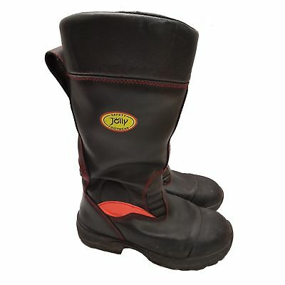 Used Leather Jolly Crosstech Fireman Bikers Rigger Boots  Steel Toe Caps