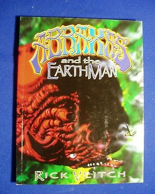 Abraxas and the Earthman Rick Veitch. Science Fiction GN ,1st edn. VFN/NM. rare.