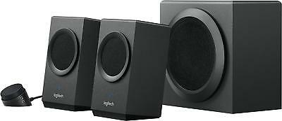 Logitech Z337 Sound Bluetooth Wireless 2.1 Speaker System for Computers Tablets