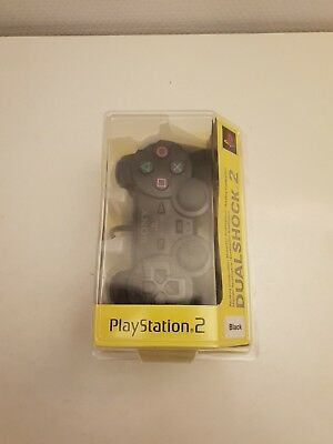 Sony - Playstation 2 - Dual Shock 2 Controller / Black - New & Sealed