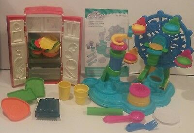 Play-Doh Cupcake Celebration Toy Lot Fun With Food Tools Molds