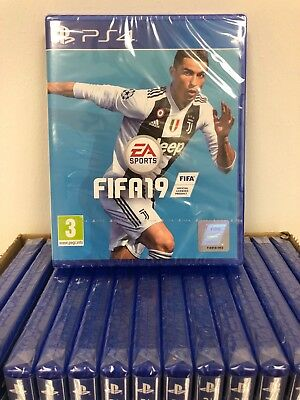 FIFA 19 - PS4 - Sony Playstation 4 - Neu & OVP - ENG Version