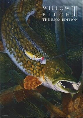 CRYER LITTLE EGRET FISHING BOOK WILLOW PITCH III THE ESOX EDITION paperback NEW