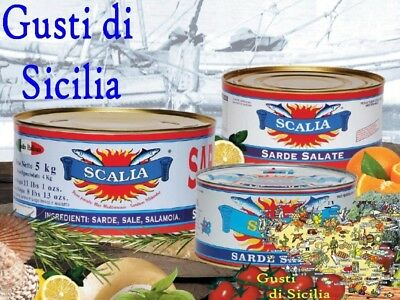 Sarde salate In Scatola art. GDS159