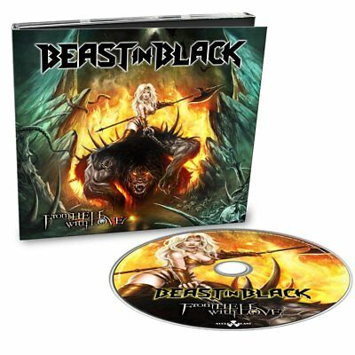 Beast In Black - From Hell With Love Digipak CD 08.02.19 Vorverkauf / pre sale