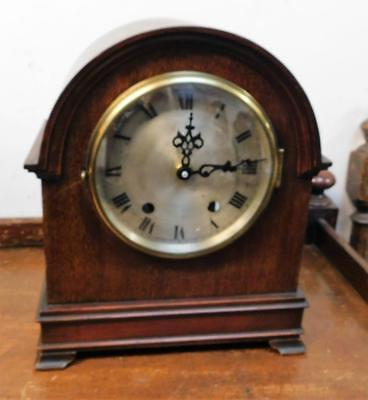 mahogany bracket clock battery movement