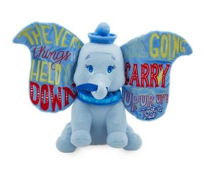 Dumbo Disney Wisdom Collection Plush January Disney Store Limited Edition