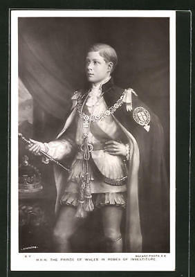 AK Portrait H.R.H. the Prince of Wales in Robes of Investiture