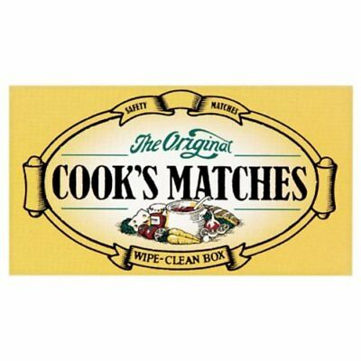 COOKS STRIKE ANYWHERE MATCHES GENUINE Original Safety Matches Uk Seller