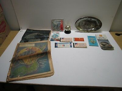 Assorted Lot of 1964-65 New York World's Fair collectibles