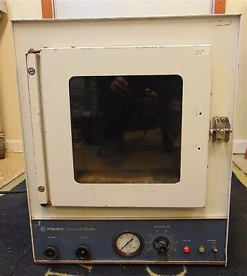 "Fisher Scientific Vacuum Oven Model 48 - Inside Measures 9""x9""x11"" - S2114x"