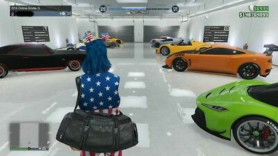 GTA 5 MODDED ACCOUNT WITH ALL UNLOCK|the cheapest|xbox 360,one,PS3,PS4,PC|