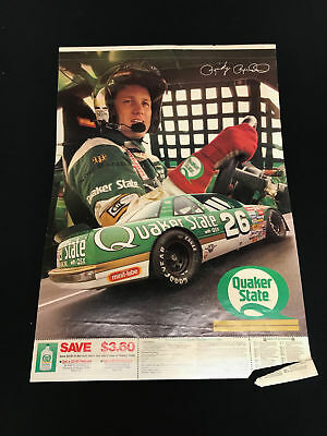 Vintage NASCAR Coupon Advertisment - Ricky Rudd #26 Quaker State Buick