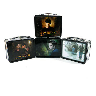 Lot of (4) Different Twilight Saga New Moon Lunch Boxes with Thermos