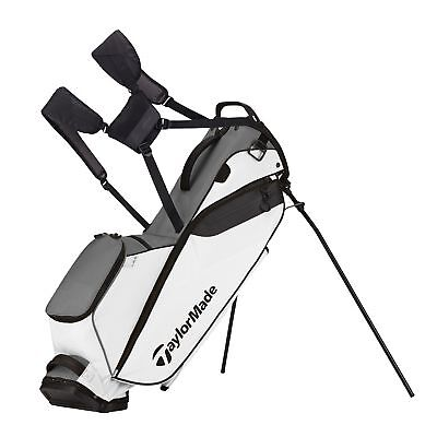 New TaylorMade Golf- 2017 Flextech Lite Stand Bag Gray/White