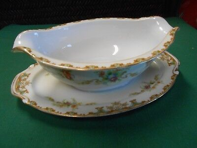 Outstanding Occupied Japan ALADDIN Fine China REGAL ...GRAVY BOAT Attached