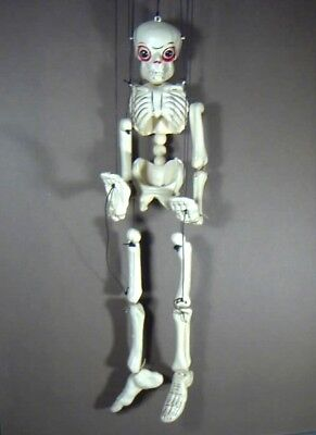Skeleton, String Puppet, by Pelham Puppets, Made In England, 1960s, Collec