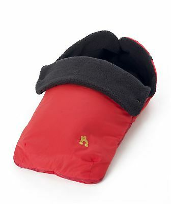 Outnabout OUT'N'ABOUT FOOTMUFF - CARNIVAL RED Pushchair Pram Accessory - BN