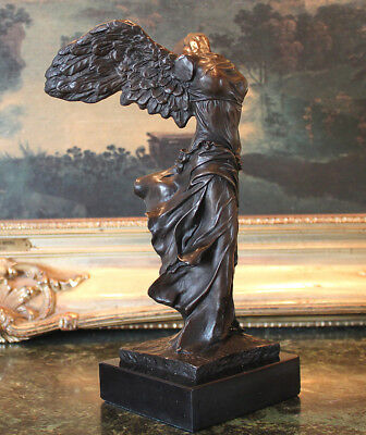 Winged Nike Samothrace Louvre Paris Bronze Marble Victory Statue Sculpture Art