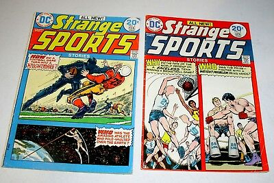 STRANGE SPORTS STORIES #3 AND #4  BRONZE AGE DC's  1974