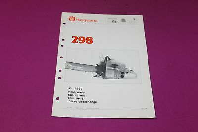 HUSQVARNA 244RX TRIMMER Parts Manual  Acquired from a closed