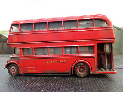 Boxed Efe Black Prince Morley Routemaster Bus lineside Weathered