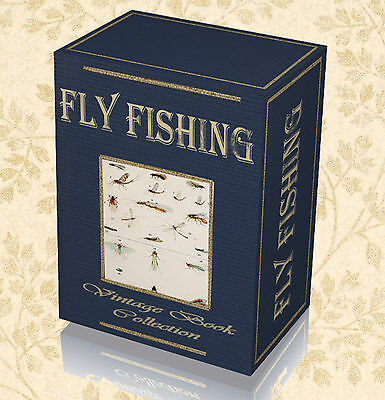 230 Rare Books on Fly Fishing on DVD - Salmon Trout Tying Flies Dry Wet Fly 298