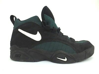 cheap for discount 81ded 7ed6f Vintage 1995 Nike Air Pulverize DVST8 Devastate BlackGreen Shoes Size US  9.5