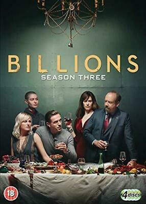 Billions Season 3 New DVD 2018 Region 2 **Same Day Dispatch**