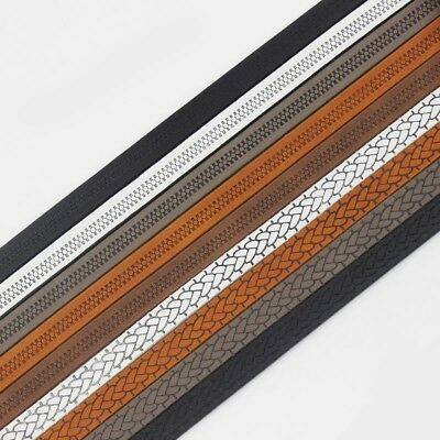 1Meter 10*2mm Flat Pu Leather Cord Jewelry Necklace Bracelet Making Rope Thong
