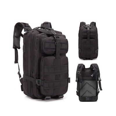 30L Outdoor Neutral Adjustable Military Tactic Backpack Rucksacks Hiking Travel