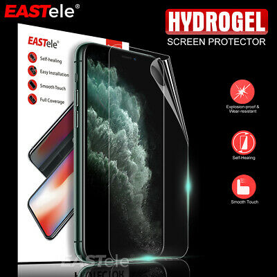 Apple iPhone 11 Pro X XS MAX XR 8 7 6s Plus EASTele HYDROGEL Screen Protector