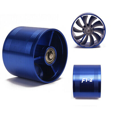 Supercharger Turbine Turbo Saver Fan Charger Air Filter Intake Fuel Gas for Car