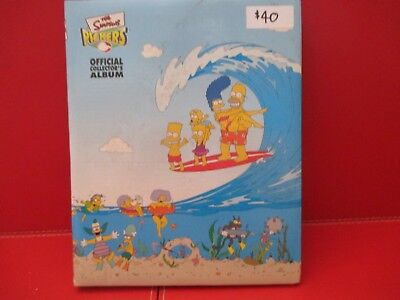 The Simpsons Official collectors album Pickers RARE