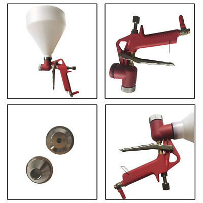 Air Hopper Spray Gun Paint Hand Tool Set Drywall Wall Painting Sprayer Nozzle